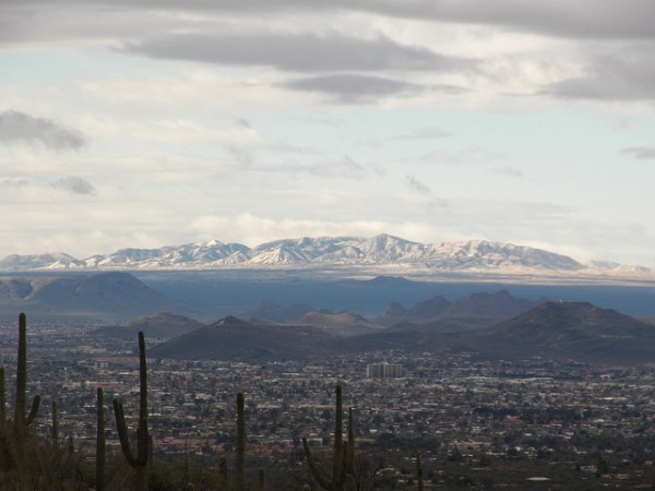 arizona mountain snow