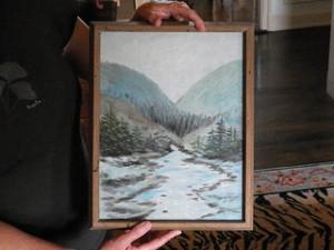 Great Aunt Kristina's Landscape