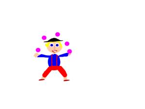 juggling 5 balls at once