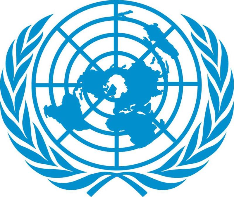 Эмблема ООН.