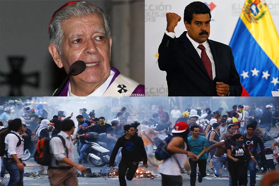 Архиепископ Венесуэлы призвал Мадуро отменить режим ЧП. И капитулировать перед мажорами и США?