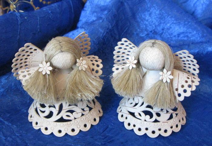 Пасхальные ангелочки своими руками