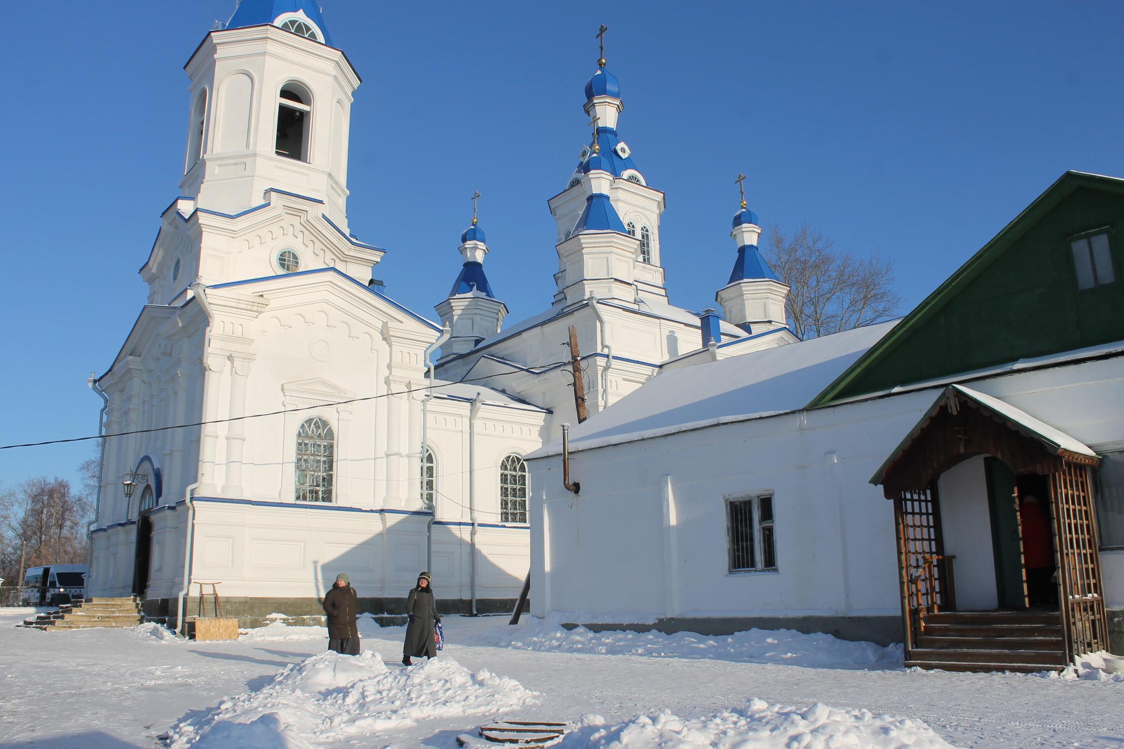 Алапаевск. Стихи в храме.