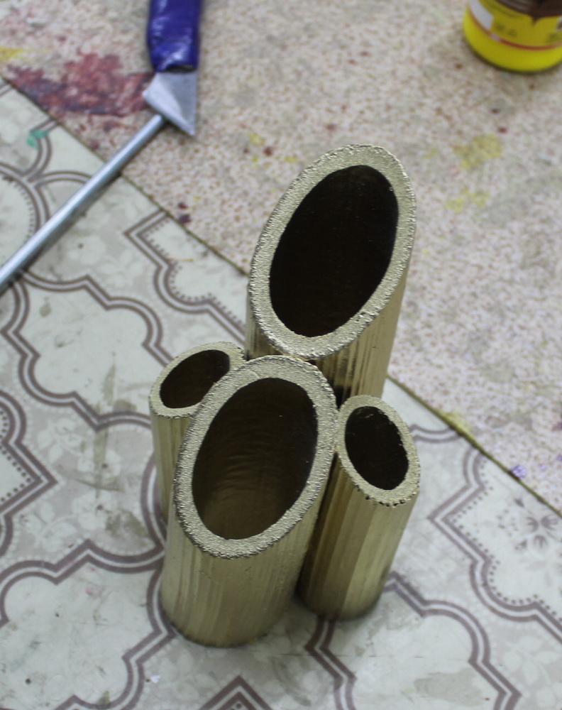 Карандашница из борщевика.