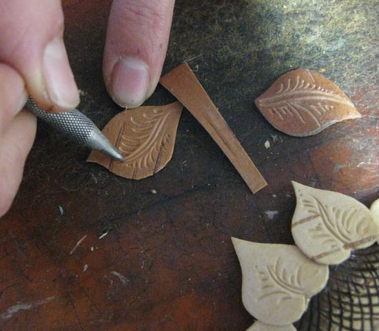 Как сделать цветы из бересты своими руками