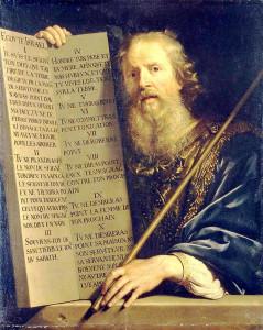 00 Моисей с Десятью заповедями. Художник Филипп де Шампань.jpg