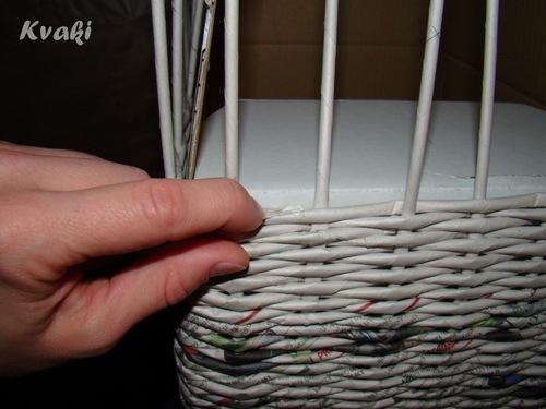 Плетение корзинки своими руками