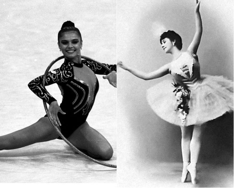 Алина Кабаева и Матильда Ксешинская просто красивые женщины. Фото размещено для привлечения внимания.