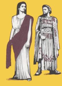 Антигона и Креонт (с греческой марки).JPG
