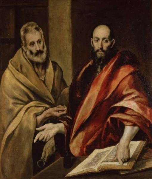 Эль Греко. Апостолы Петр и Павел. 1592.jpg