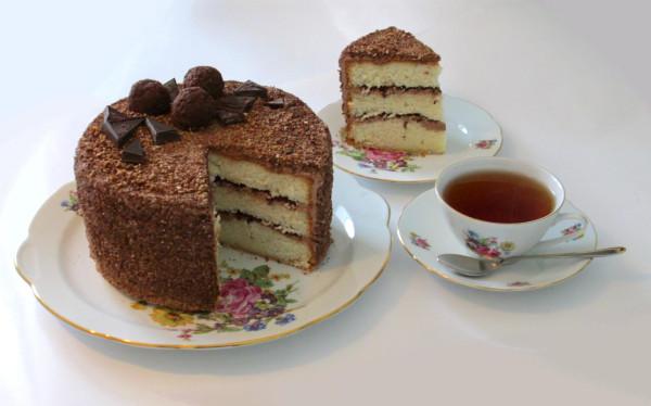 Торт Трюфельный с кусочком