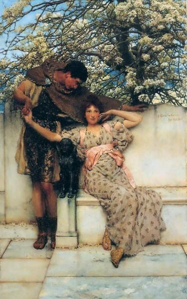 Лоуренс Альма-Тадема. Весенние надежды,1890.jpg