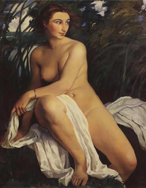 Зинаида Серебрякова. Купальщица, 1911.jpg