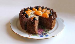 Торт Шоколадно-фруктовый
