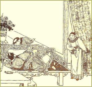 Поэт Ли Бо отказывается явиться к императору