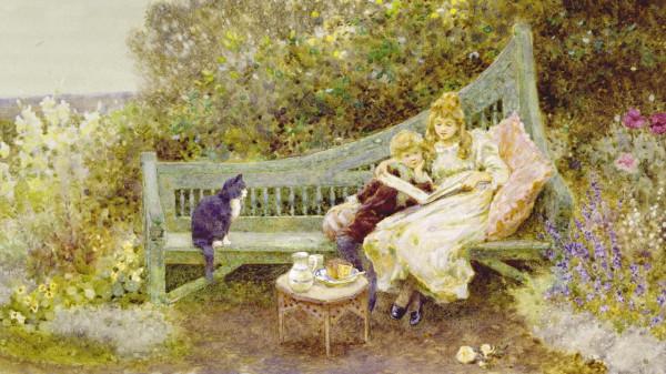 Книга с картинками. 1903.Томас Джеймс Ллойд