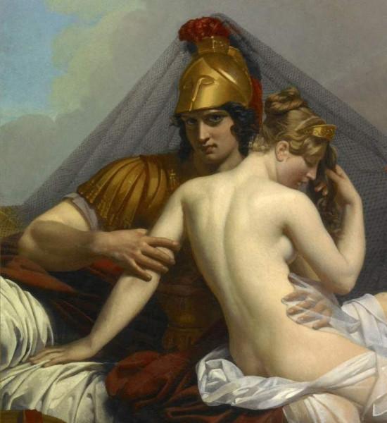 Лагрене Луи Жан-Франсуа, Лувр