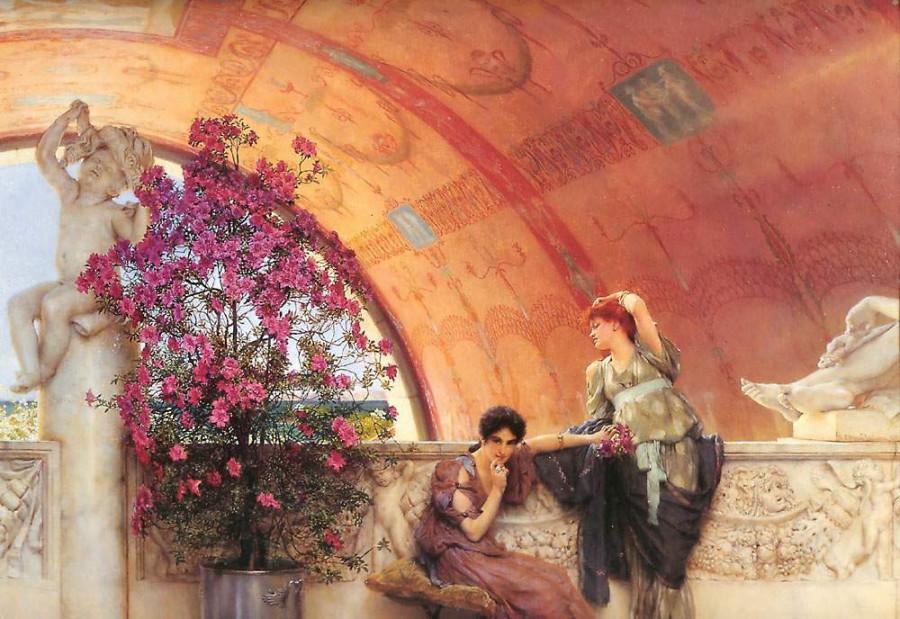 Альма-Тадема. Соперницы, 1893