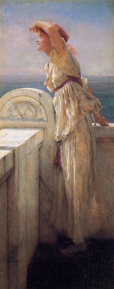 Лоуренс Альма-Тадема.Полна надежд. 1909.jpg