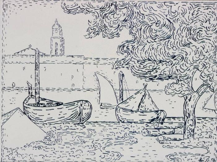 Le Port de St. Tropez Au Bord du Fleuve1