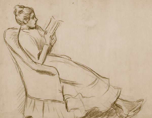 woman-on-an-armchair