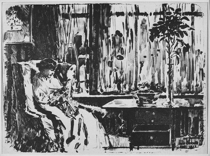 Woman knitting1