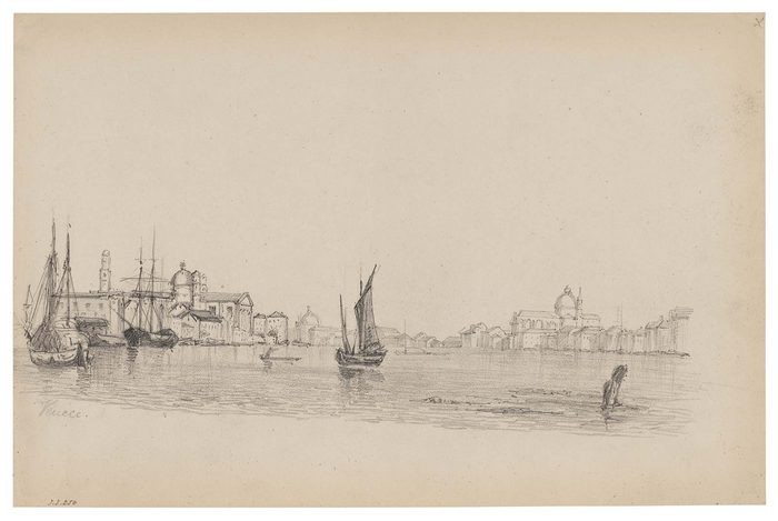 Sketch of canal with boats1