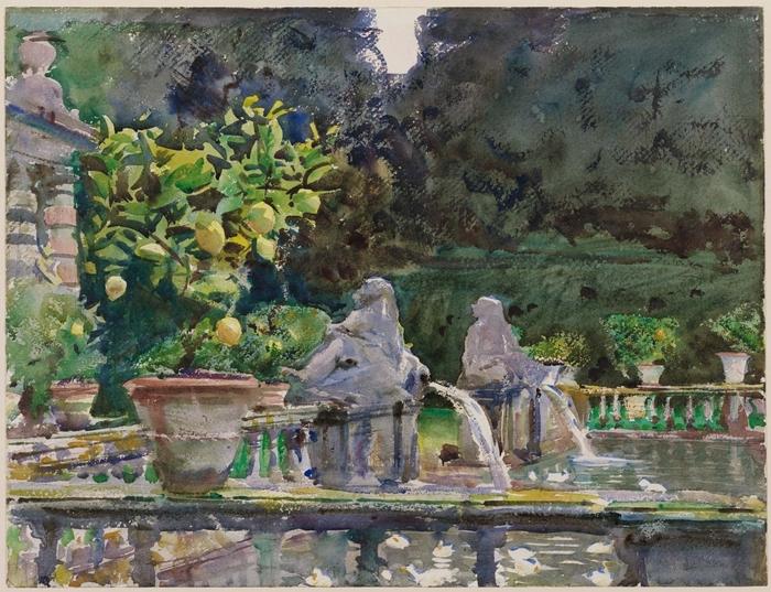 Villa di Marlia, Lucca A Fountain1