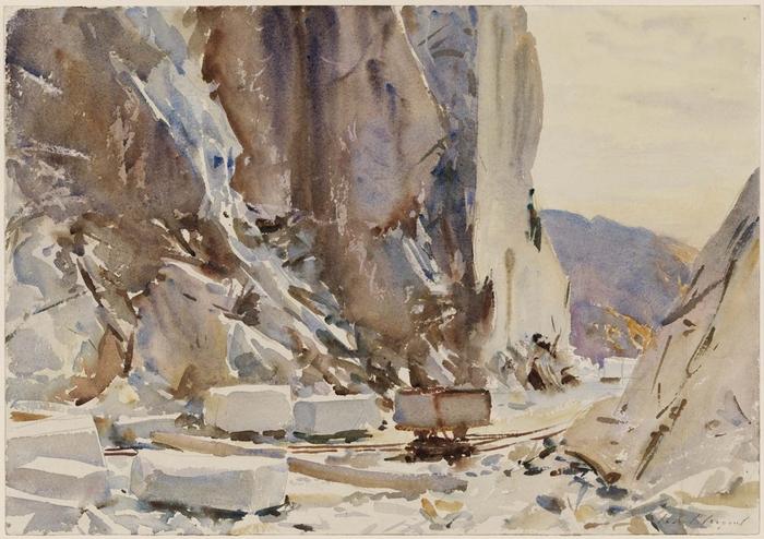 Carrara Quarry II1