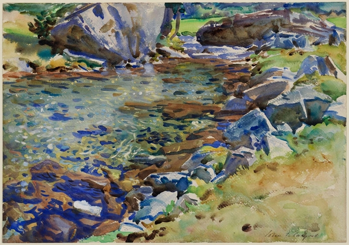Brook among Rocks1