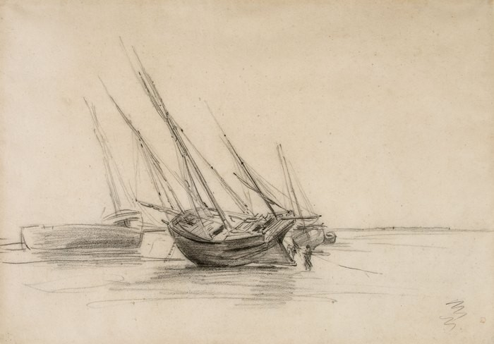 Boats on the Shore, Villerville1