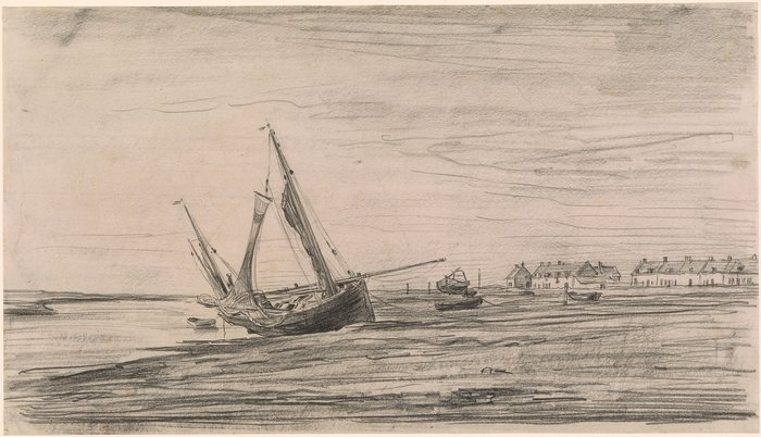 Boat Stranded at Etaples1