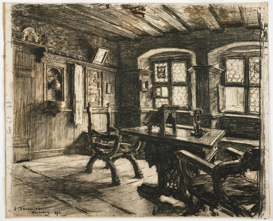 Durer's room in Nurnberg