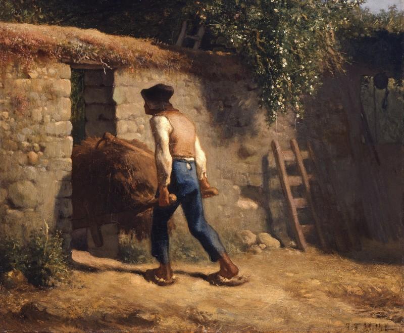 Peasant with a Wheelbarrow