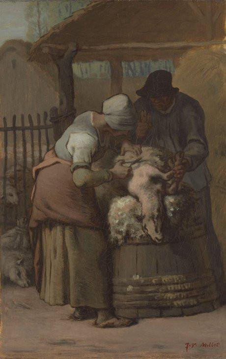 The Sheepshearers, 1857-61