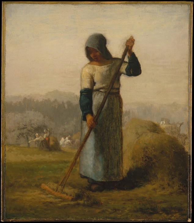 Woman with a Rake