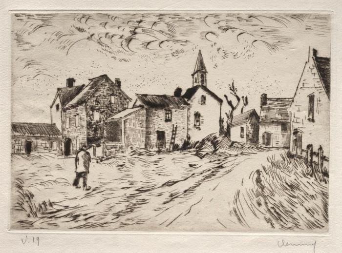 Village of Lourivilliers,1