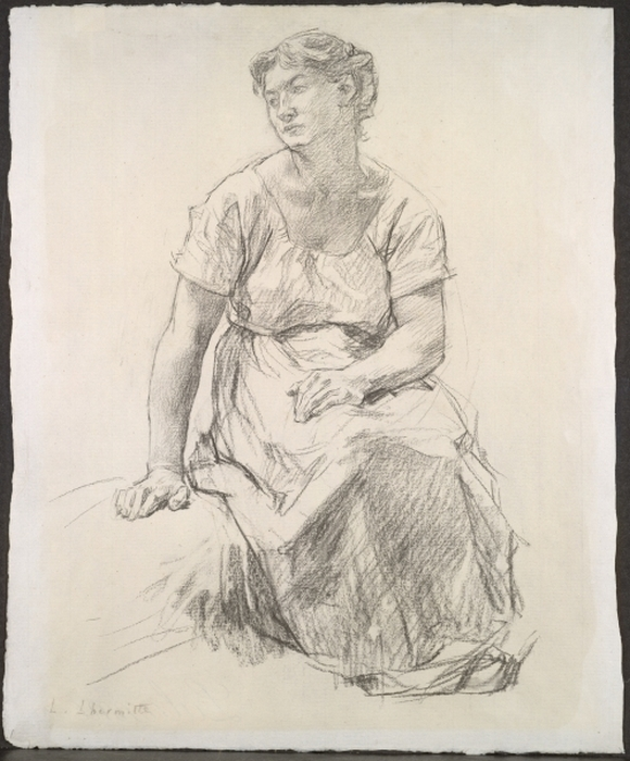 Seated Peasant Woman, c. 1885