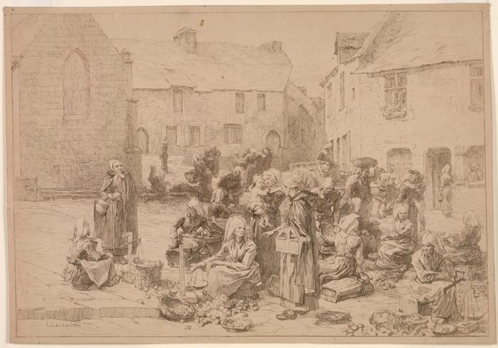 The Apple Market at Landerneau, 187811