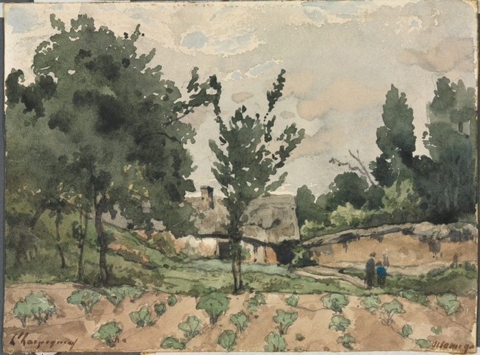 Landscape with Farmhouse, 18921
