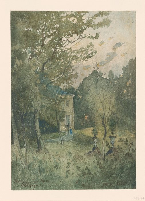 Landscape with the House of the Artist's Mother1
