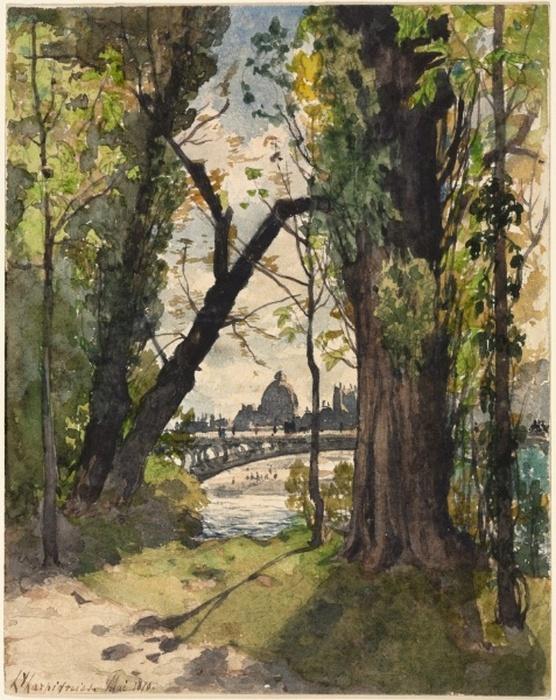 Paris from the Bois, 1870