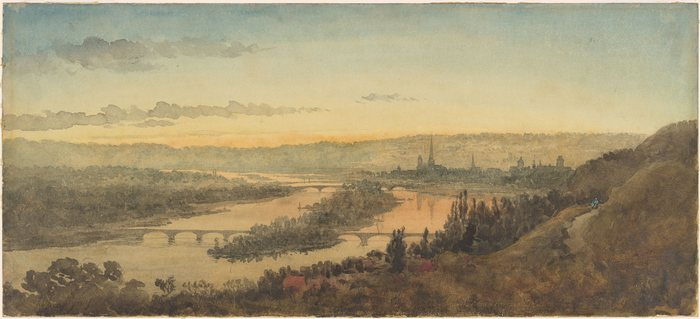 View of the Seine at Rouen1