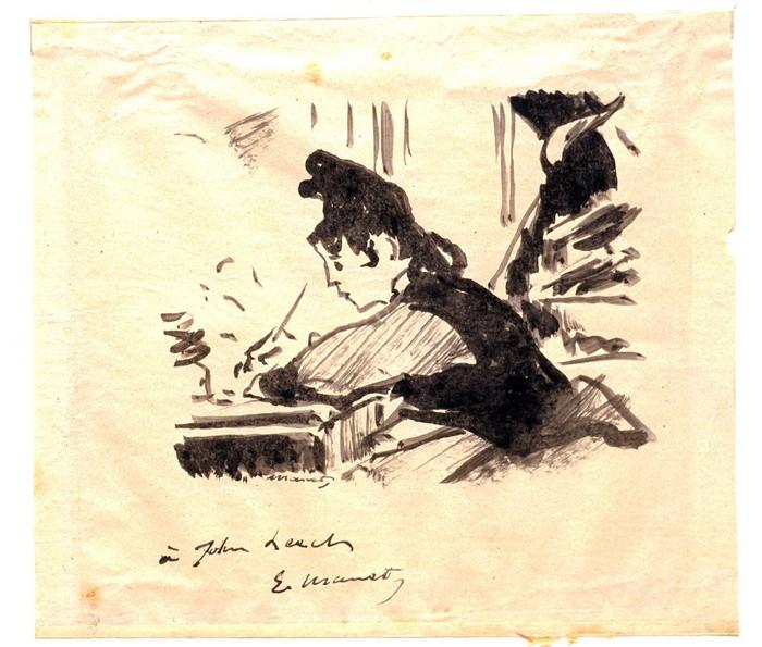 Woman Writing о 18861