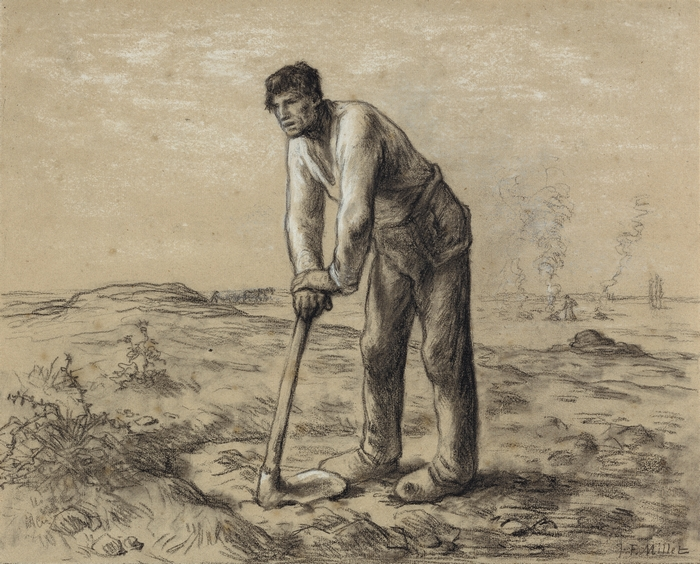 Man with a hoe1