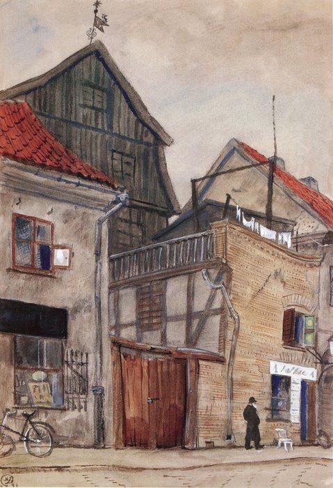 Каунас. Старые дома 1931