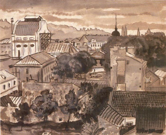 Каунасский государственный театр. 1931
