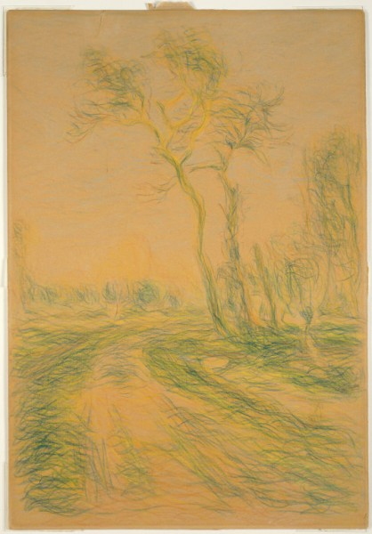 Landscape with Trees, 1880-85