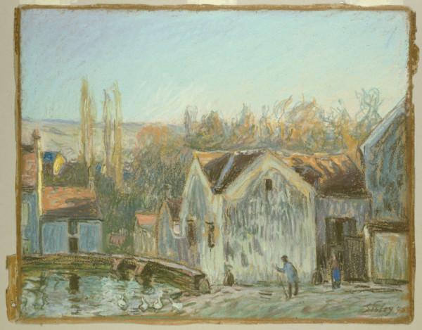 A Corner of Moret-sur-Loing, 1895