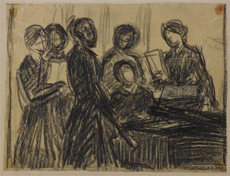 Pianiste entouré de diverses figures2